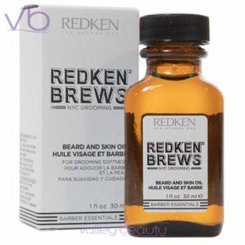 Redken Brews Beard And Skin Oil 1oz
