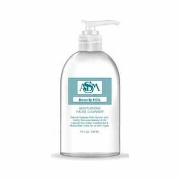 ASDM Beverly Hills Moisturizing Facial Cleanser 8oz