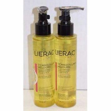 (2x) Lierac Paris Demaquillant Velour Cleansing Oil, 5 Oz Each