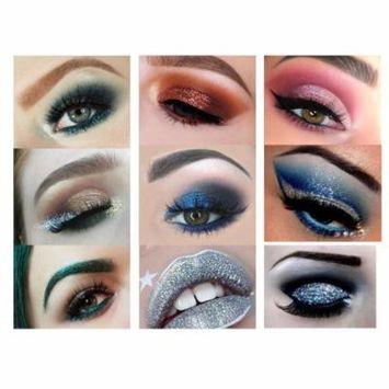 DZT1968 Shimmer Glitter Eye Shadow Powder Palettes Matte Eye shadow Cosmetic Make up