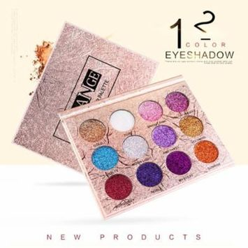 DZT1968 Fashion 12 Colors Make Up Luxury Golden Matte Nude Eye Shadow Palettes Cosmetics