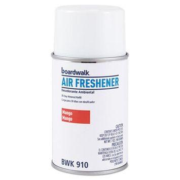 Boardwalk 910 5.3 oz Metered Air Freshener Refill, Mango Aerosol - 12 Per Case