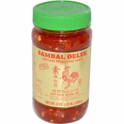 Huy Fong SAMBAL OELEK ground fresh chili paste 8oz