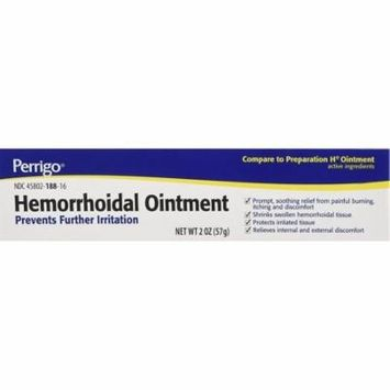 2 Pack - Perrigo Hemorrhoidal Pain Relief Ointment 2 oz