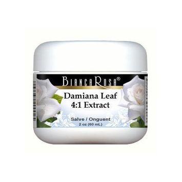 Extra Strength Damiana Leaf 4:1 Extract Salve / Ointment - 2 oz - Z...