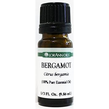LorAnn Bergamot Natural and Pure Essential Oil, 1/3 oz