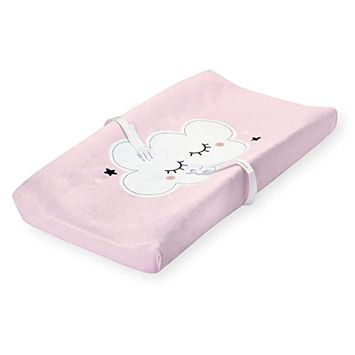 Koala Baby Feeling So Loved Pink Cloud Plush Changing Pad Cover