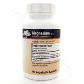 Genestra Brands - Magnesium - Magnesium Aspartate Mineral Supplement - 90 Capsules