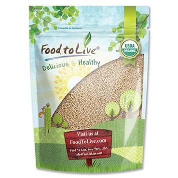Food To Live Organic Royal White Quinoa (Raw, Whole Grain, Non-GMO, Bulk) (5 Pounds)