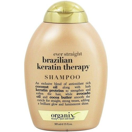 OGX Ever Straight Shampoo Brazilian Keratin Therapy 13 oz