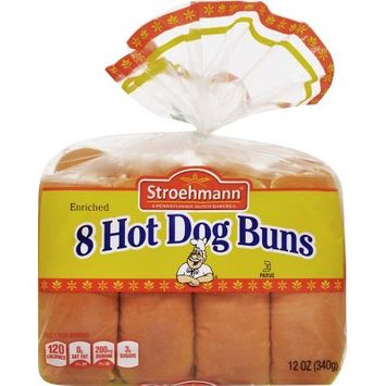 Stroehmann Hot Dog Buns - 8ct/12oz