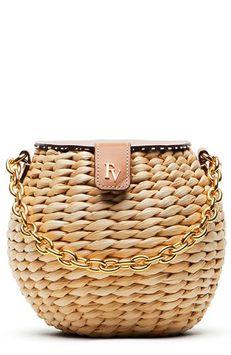 Frances Valentine Honey Pot Woven Mini Bag