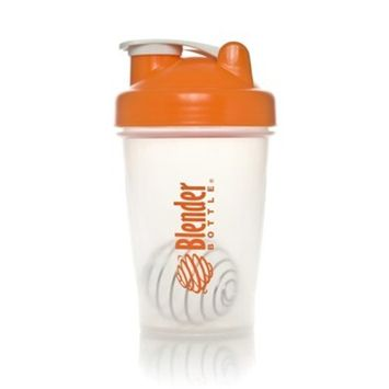 BlenderBottle Classic (Discontinued Style), 20-Ounce, Clear/Orange