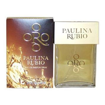 Paulina Rubio Oro By Paulina Rubio For Women. Eau De Parfum Spray 3.3 Oz/100 Ml