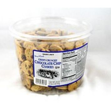 Trader Joe's Crispy Crunchy Chocolate Chip Cookies 18 Oz