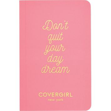 FREE Notebook with any $15 CoverGirl purchase