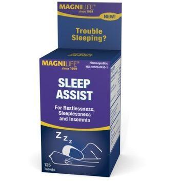 MagniLife Sleep Assist AIDS Nighttime Sleep (125 Tablets)