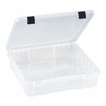 Compartment Box, Clear, 3-1/4