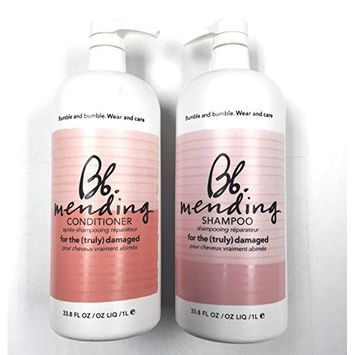 Bumble and Bumble Mending Shampoo and Conditioner Duo Liter 33.8 oz