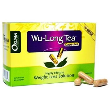 Slimming Oolong Tea Capsules - 100% Pure All-Natural Oolong Extract - HIGH CONCENTRATION for Weight Loss, Diet, Detox, and Anti-Acne - WuYi Oolong Tea Capsules - 1 Month Supply (60 capsules)