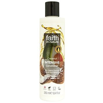 Faith In Nature Intensive Conditioner Coconut 250ml (2 Pack)