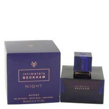 Intimately Beckham Night by David Beckham Eau De Toilette Spray 2.5 oz (Women)