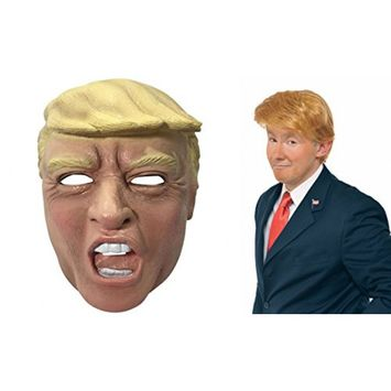 Donald Trump Latex Mask And Wig Set - Be The Real Donald!