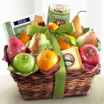 Thank You Classic Gourmet Fruit Basket Gift [Thank You]