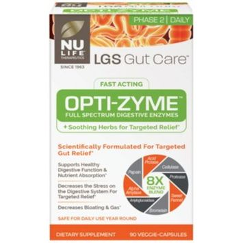 LGS Gut Care Opti-Zyme (90 Veggie Caps) by Nu Life at the Vitamin Shoppe