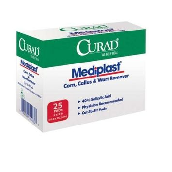 CUR01496 - CURAD Mediplast Wart Pads