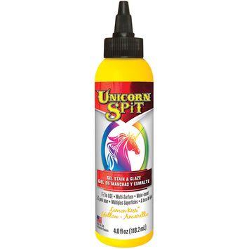 Unicorn Spit Wood Stain & Glaze 4oz-Lemon Kiss