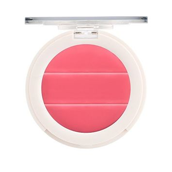 3-in-1 Lip + Cheek Cream. Coconut Extract for Radiant, Dewy, Natural Glow - UNDONE BEAUTY Lip to Cheek Palette. Blushing, Highlighting & Tinting. Sheer to Opaque Color. Vegan & Cruelty Free. ROSY