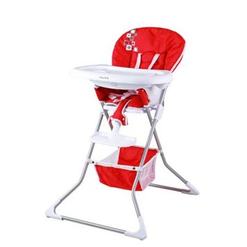 Dream On Me Industries Inc Dream On Me 261-R Acclaim High Chair in Red