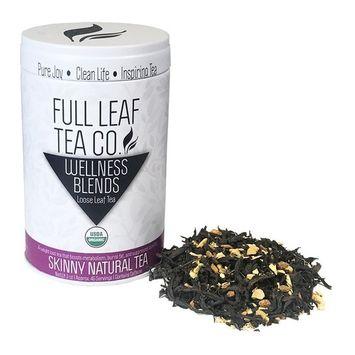 Organic Skinny Natural Tea | Herbal Weight Loss | 3oz Tin