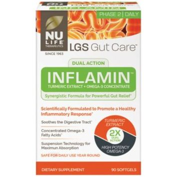 LGS Gut Care Inflamin (90 Softgels) by Nu Life at the Vitamin Shoppe