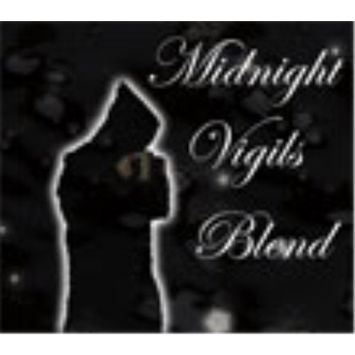 Mystic Monk Coffee: Midnight Vigils Blend Whole Bean - 12 ounce bag [Midnight Vigils Blend (Dark Roast)]