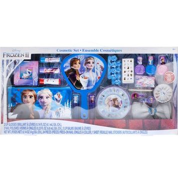($20 value) Frozen ll Jumbo Cosmetic Set, 19 pc