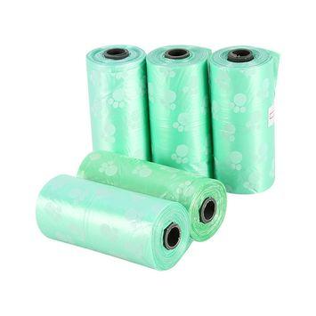 5 Rolls Pet Waste Poop Bags,Pet Dog Waste Bags for Poop Removal Disposal