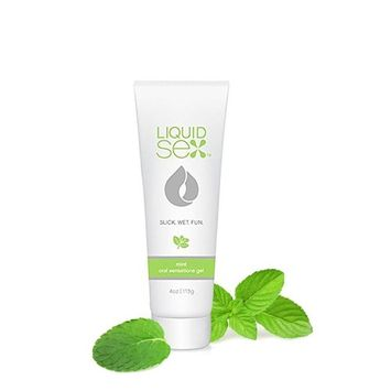 Liquid Sex Organic Edible Flavored Lube Oral Sex Gel for Men, Women and Couples 4 oz