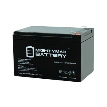 12V 12AH F2 Battery for Pride TRAVELPRO 3-Wheel Scooter MM336