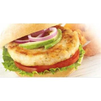 Trident Seafoods Wild Caught Alaskan Whitefish Burger, 10 Pound -- 1 each.