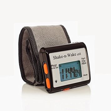 Silent Vibrating Travel Alarm Clock