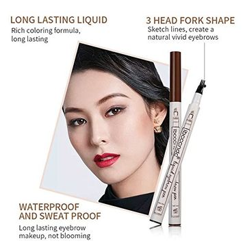 Mmrm Liquid Eyebrow Tattoo Pen Pencil 24 Hours Waterproof Micrograin Eyebrow Pencil Microcarving
