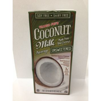 Trader Joe's Coconut Milk Beverage Unsweetened