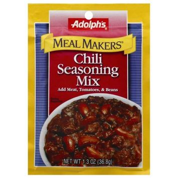 Adolph's Chili Seasoning Mix, 1.3 OZ (Pack of 4)