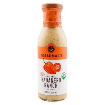 Tessemae's All Natural Organic Habanero Ranch Dressing 10 oz