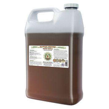 Gotu Kola (Centella Asiatica) Glycerite, Organic Dried Leaf Alcohol-Free Liquid Extract, Han Ke Cao, Glycerite Herbal Supplement 64 oz