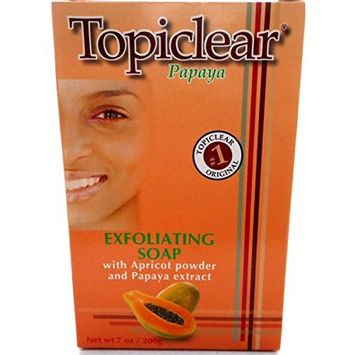 Topiclear Exfoliating Soap, Papaya, 7 oz.