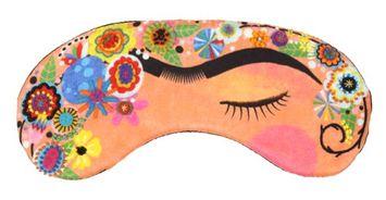 Trovelore Treasures & Tales Handmade Embelished 100% Silk Sleep Eye Mask- Frida Kahlo
