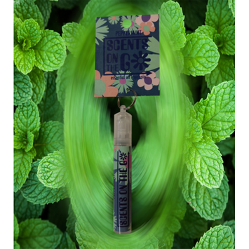 SCENTS ON THE GO - Essential Oil Keychain Spray - 100% Therapeutic
